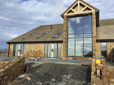 Chorley aluminium window project